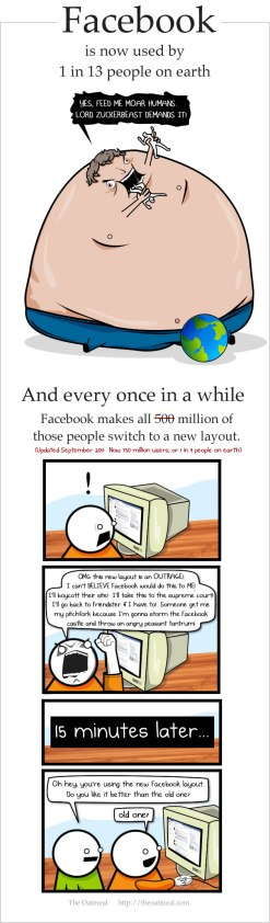 Courtesy of The Oatmeal ... for more great oats, theoatmeal.com